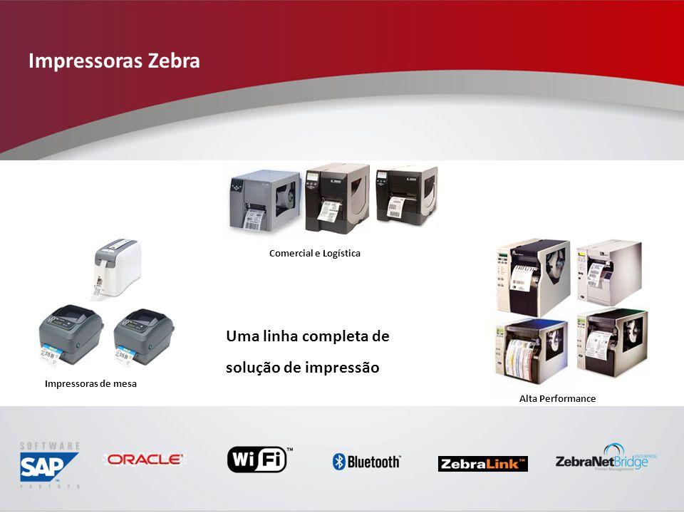 Impressoras Zebra Uma linha completa de solução de impressão
