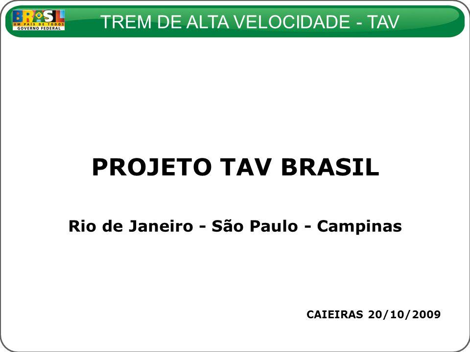 Rio de Janeiro - São Paulo - Campinas
