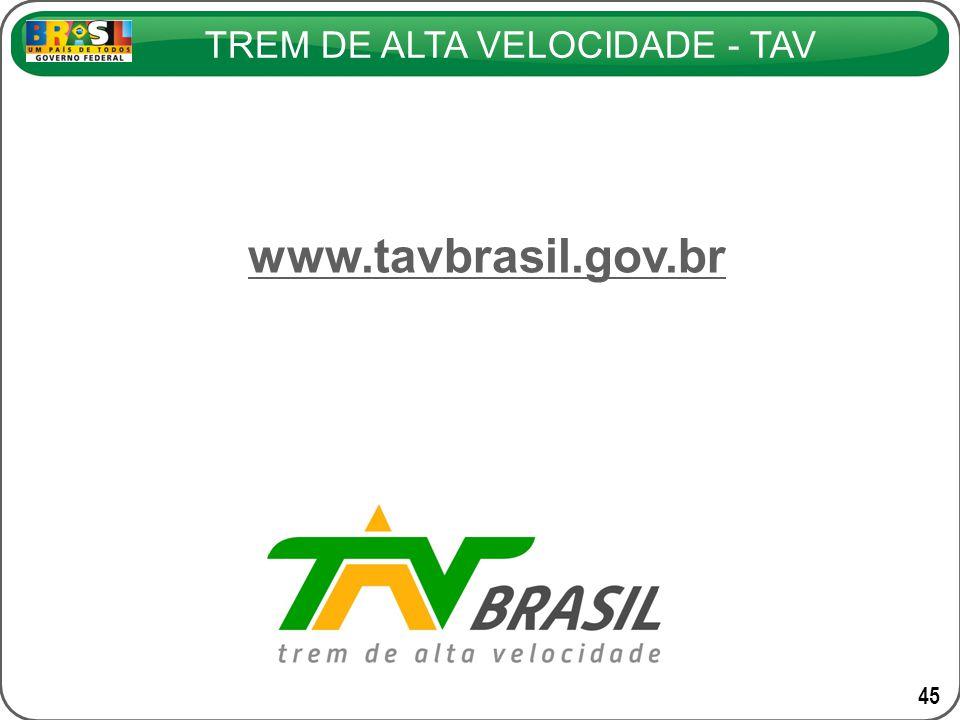 www.tavbrasil.gov.br 45