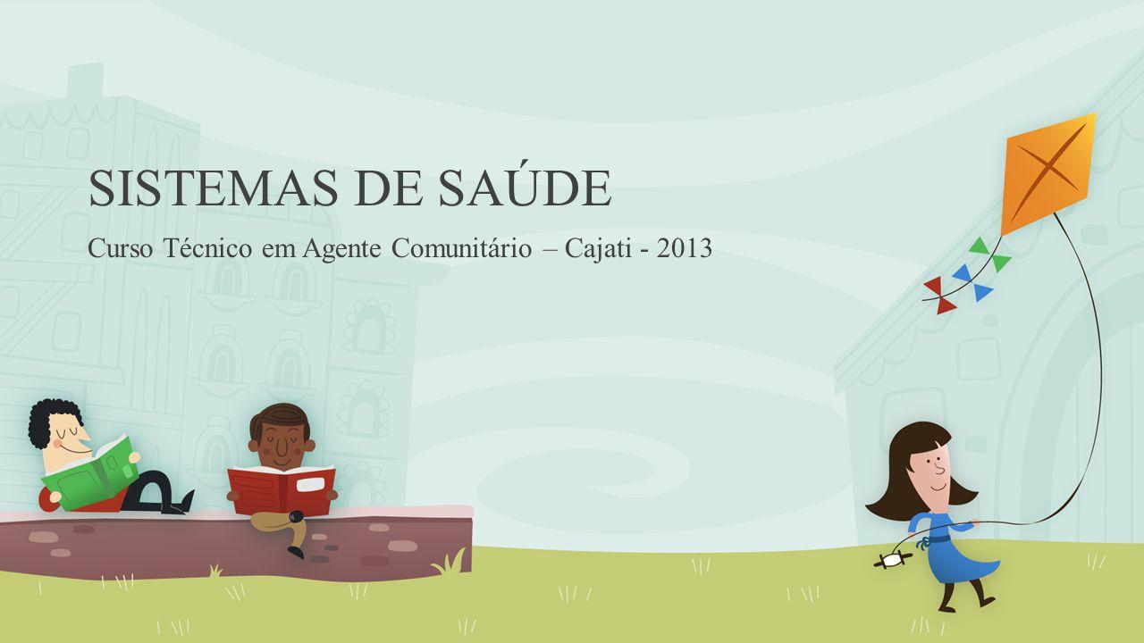 Curso Técnico em Agente Comunitário – Cajati - 2013