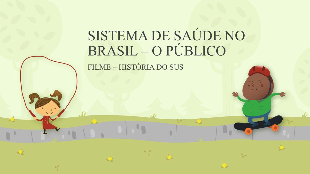 SISTEMA DE SAÚDE NO BRASIL – O PÚBLICO