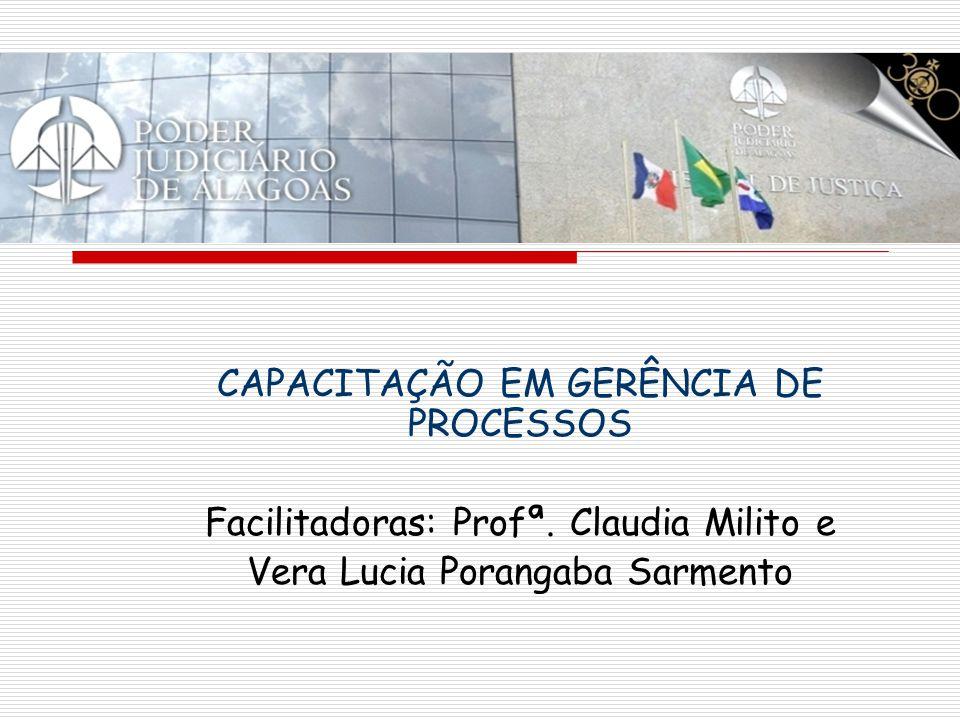 CAPACITAÇÃO EM GERÊNCIA DE PROCESSOS