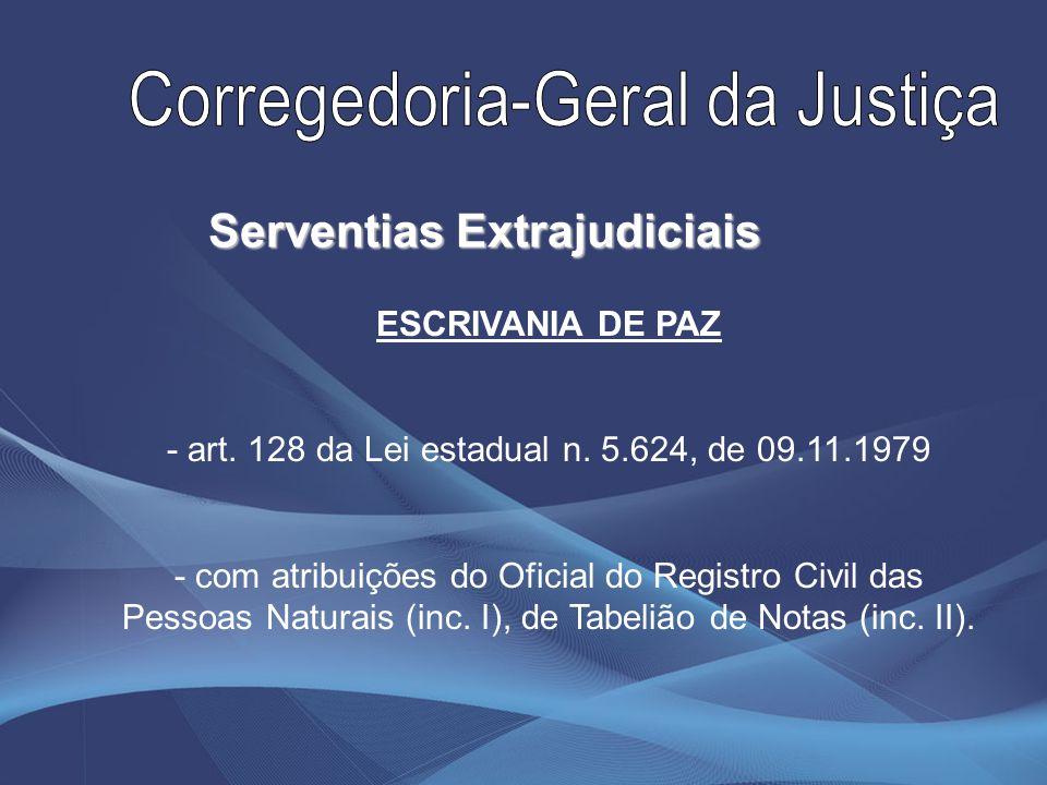 Serventias Extrajudiciais