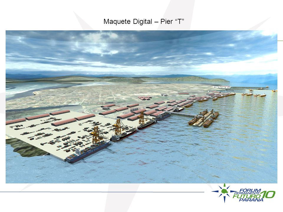 Maquete Digital – Pier T