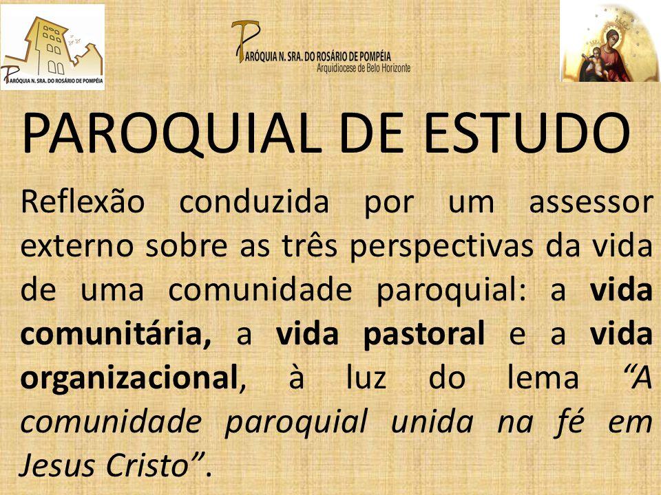 PAROQUIAL DE ESTUDO