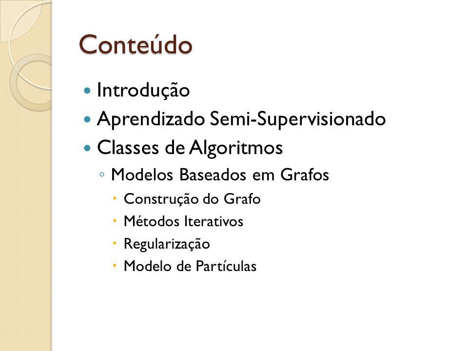 Conteúdo Introdução Aprendizado Semi-Supervisionado