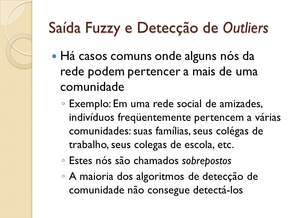 Saída Fuzzy e Detecção de Outliers