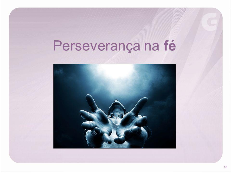 Perseverança na fé