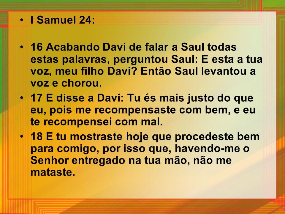 I Samuel 24: