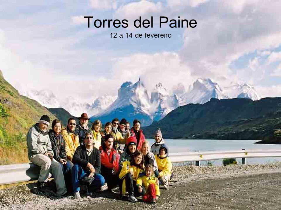 Torres del Paine 12 a 14 de fevereiro