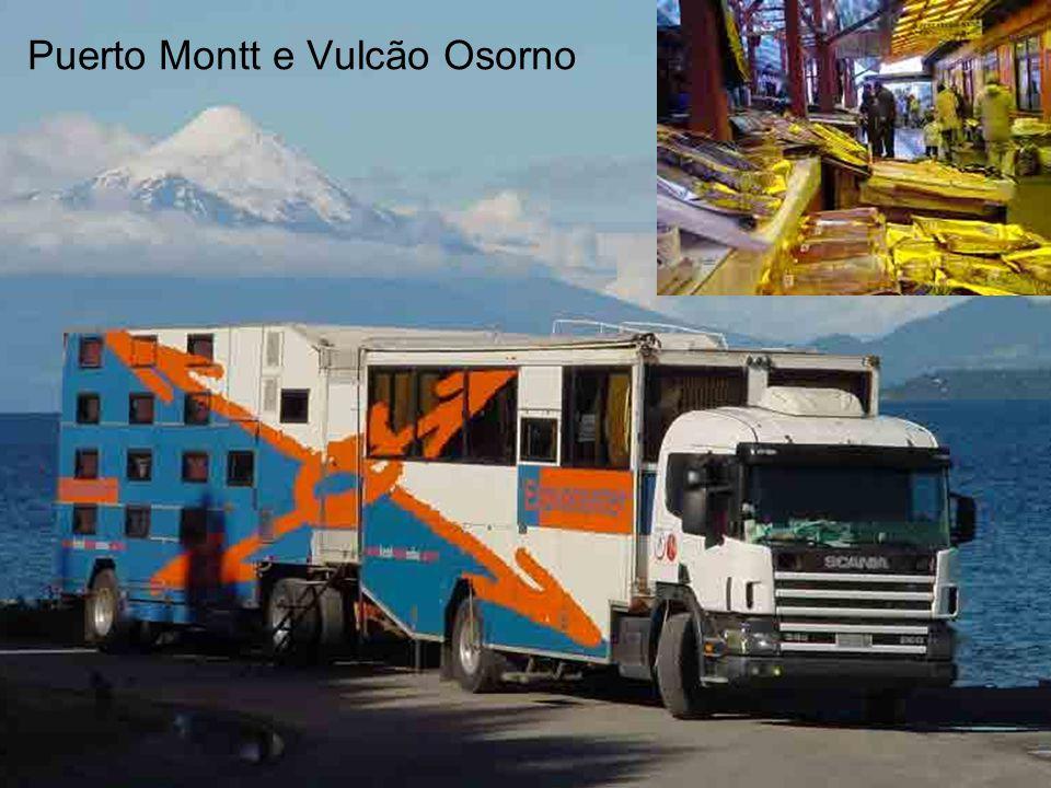 Puerto Montt e Vulcão Osorno