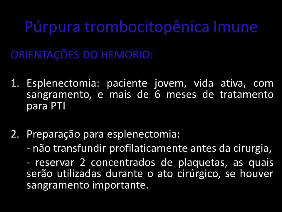 Púrpura trombocitopênica Imune
