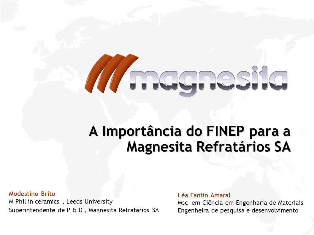 A Importância do FINEP para a Magnesita Refratários SA