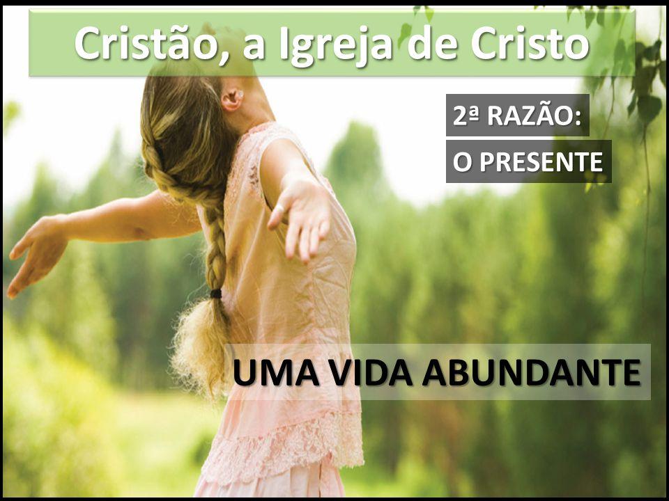 Cristão, a Igreja de Cristo