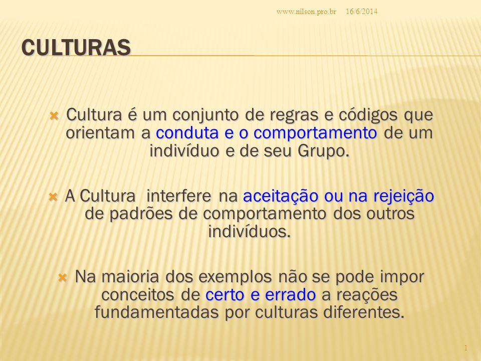 www.nilson.pro.br 02/04/2017. Culturas.