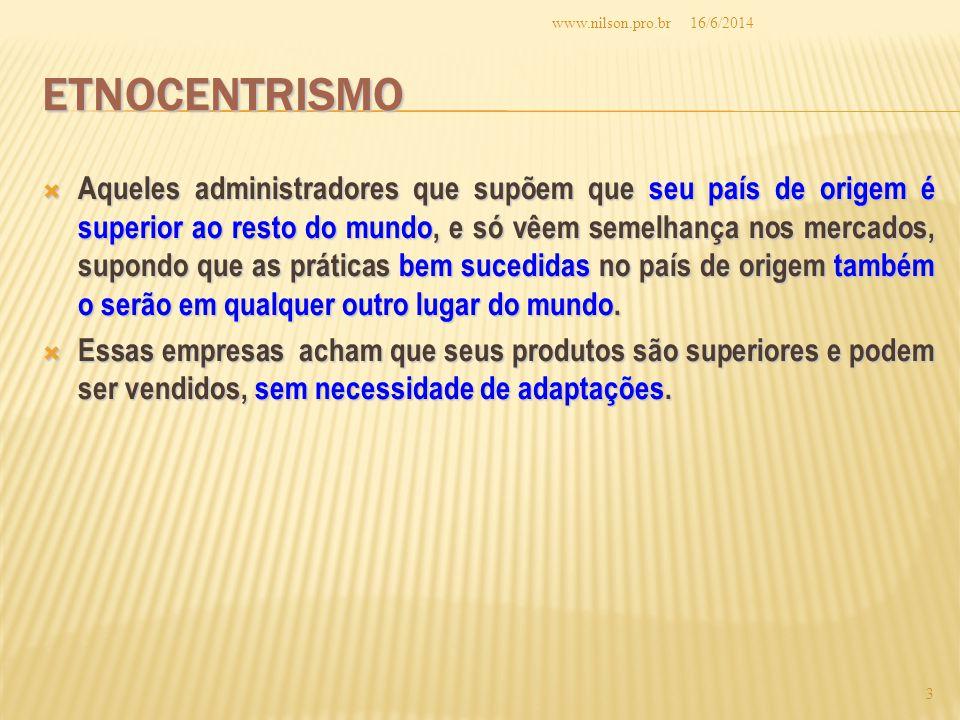 www.nilson.pro.br 02/04/2017. Etnocentrismo.