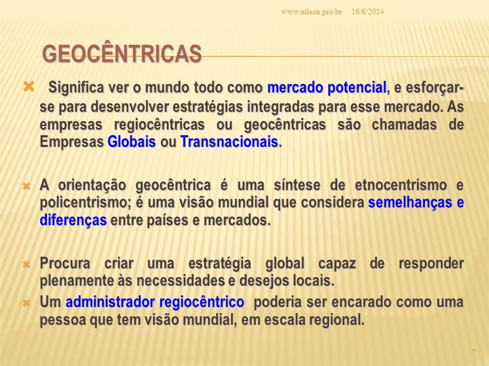 www.nilson.pro.br 02/04/2017. Geocêntricas.