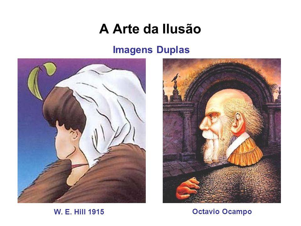 A Arte da Ilusão Imagens Duplas W. E. Hill 1915 Octavio Ocampo