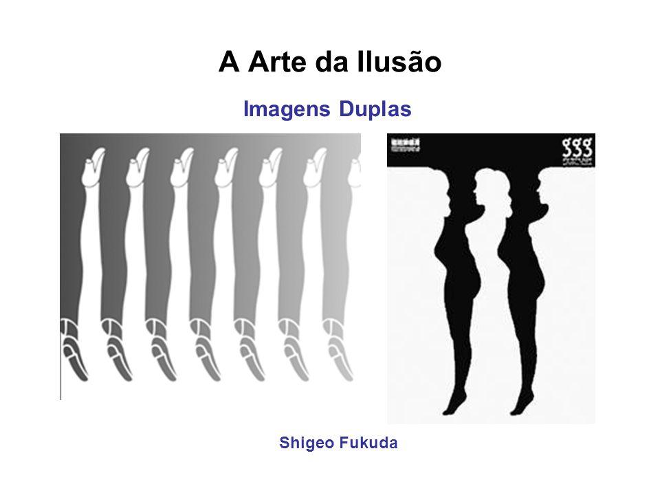 A Arte da Ilusão Imagens Duplas Shigeo Fukuda