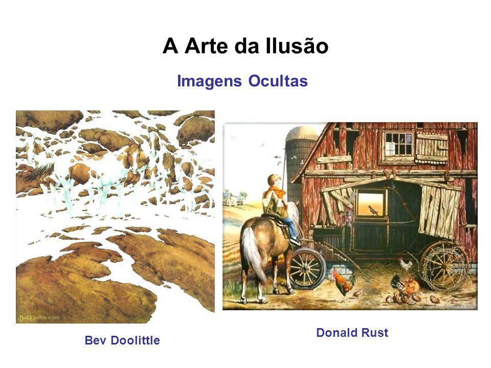 A Arte da Ilusão Imagens Ocultas Donald Rust Bev Doolittle