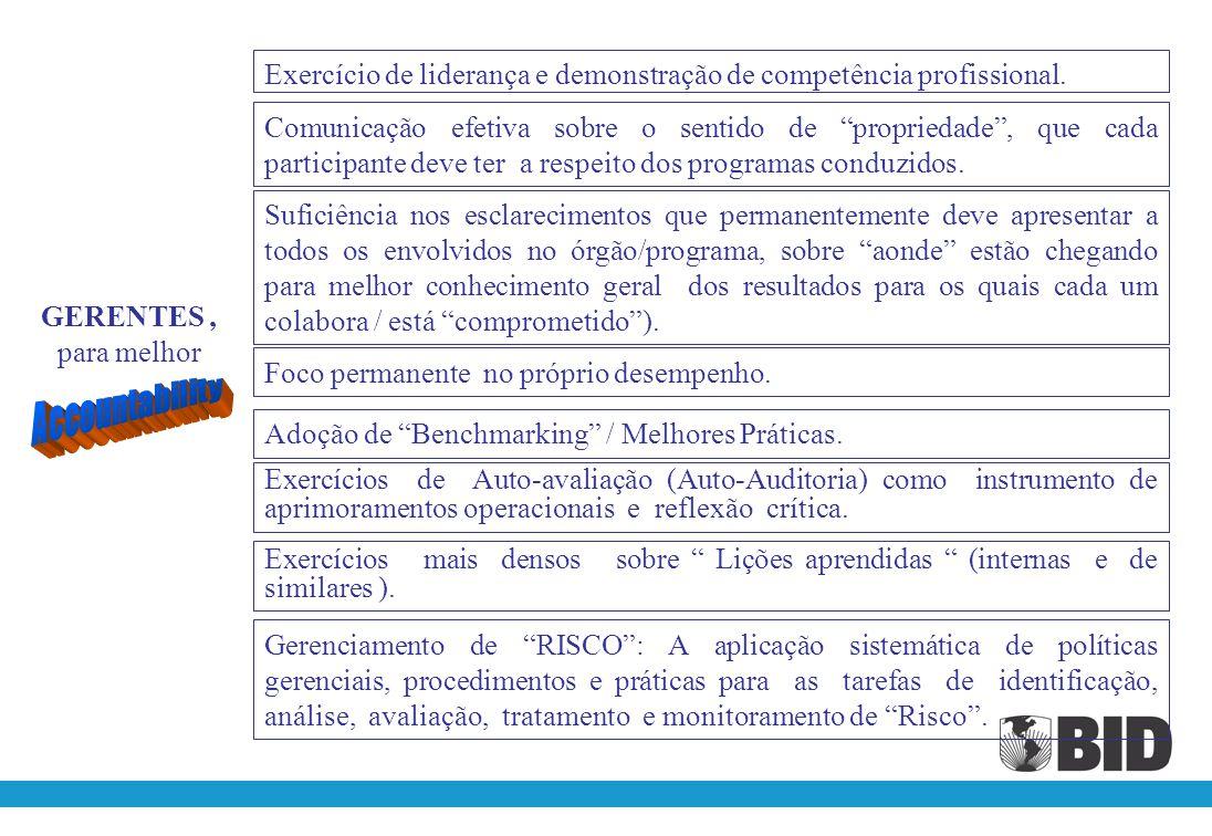 Exercício de liderança e demonstração de competência profissional.
