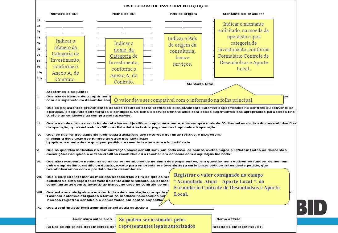 Indicar o País de origem da consultoria, bens e serviços.