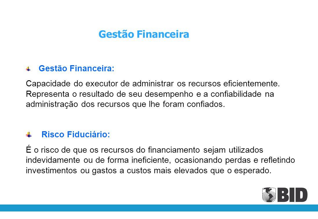 Gestão Financeira Gestão Financeira: