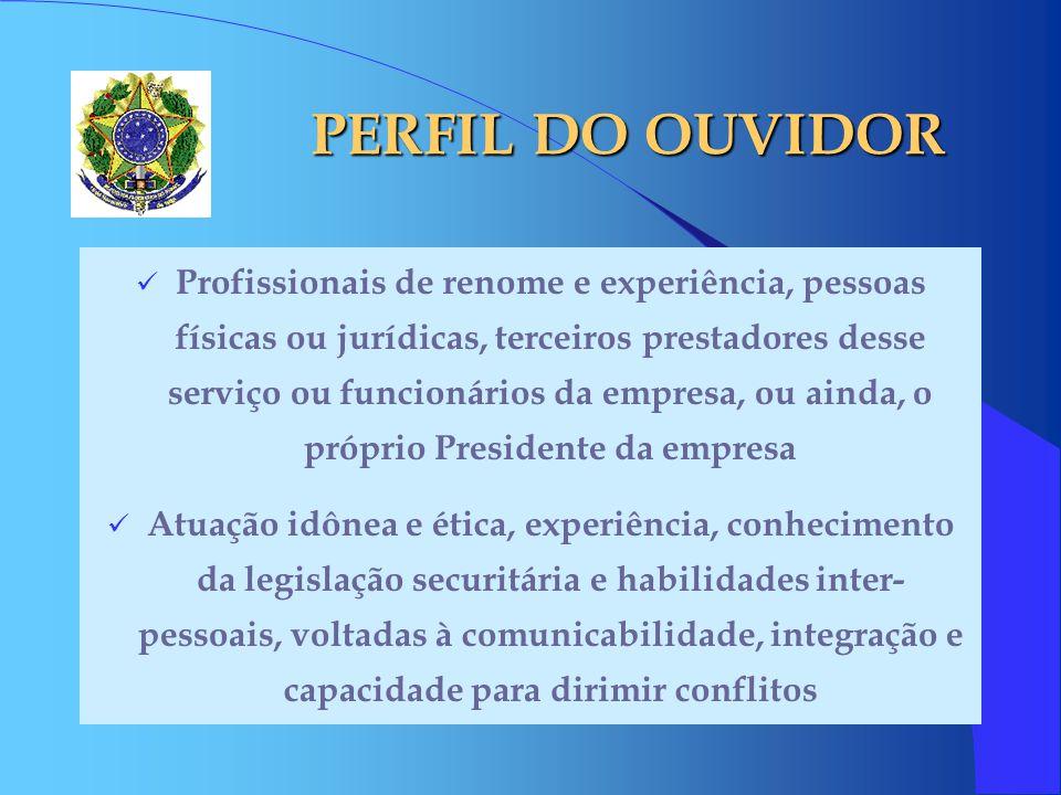 PERFIL DO OUVIDOR