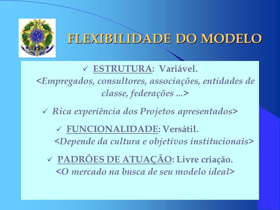 FLEXIBILIDADE DO MODELO
