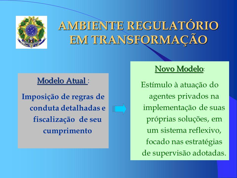 AMBIENTE REGULATÓRIO EM TRANSFORMAÇÃO