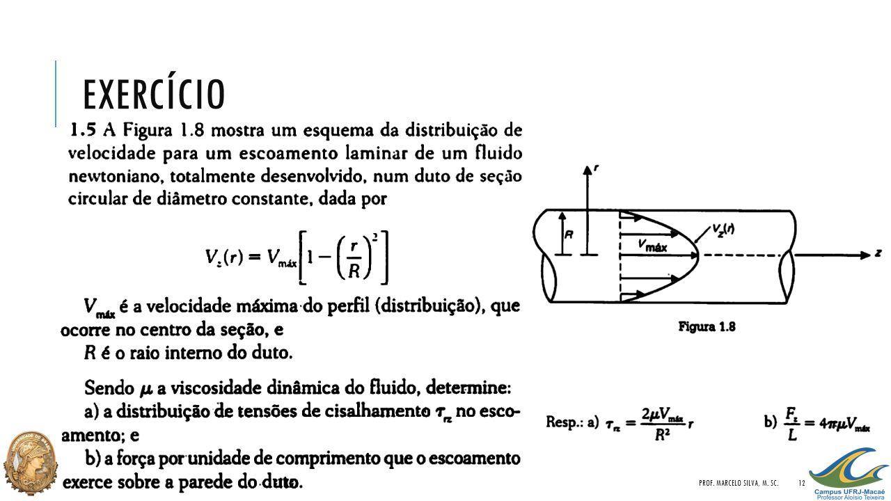 exercício Prof. Marcelo Silva, M. Sc.