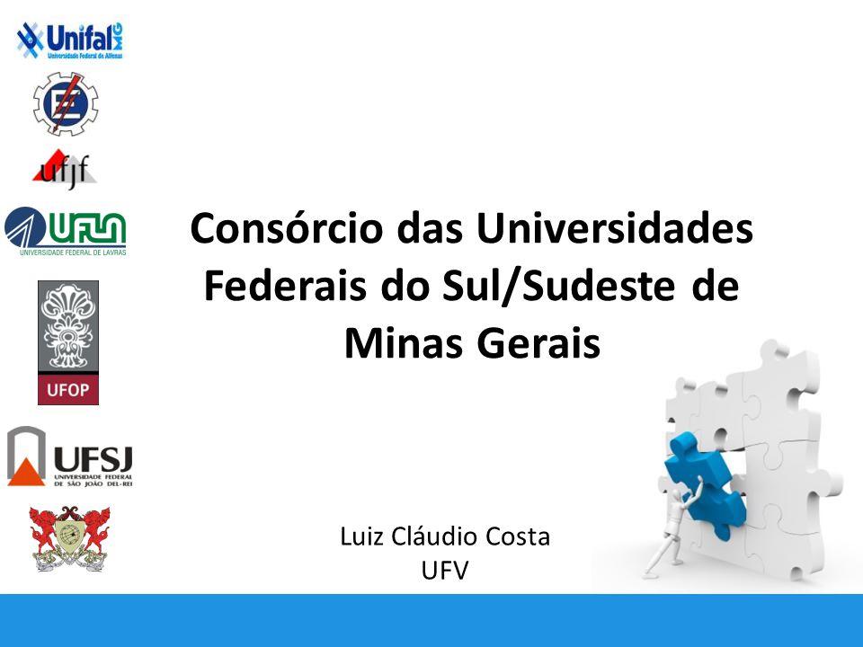 Consórcio das Universidades Federais do Sul/Sudeste de Minas Gerais