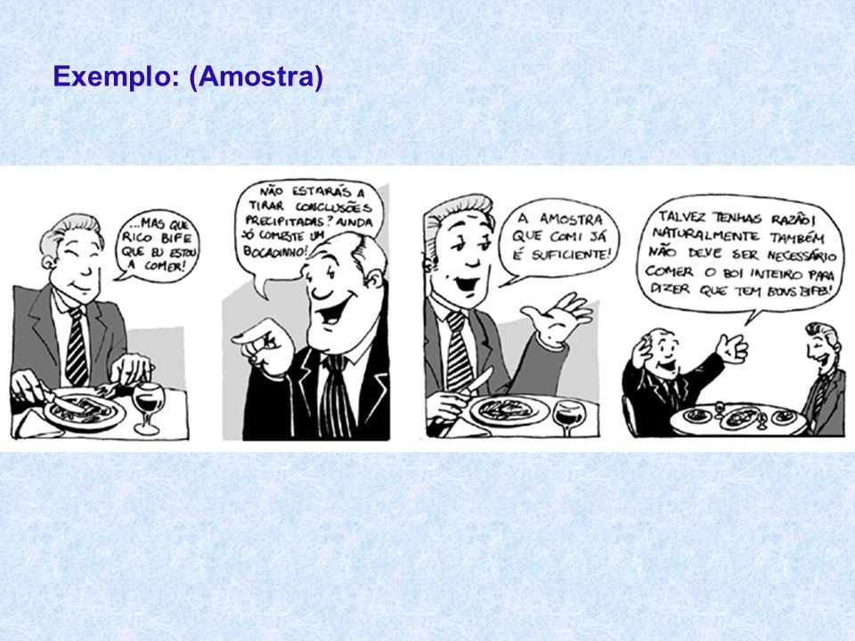 Exemplo: (Amostra)
