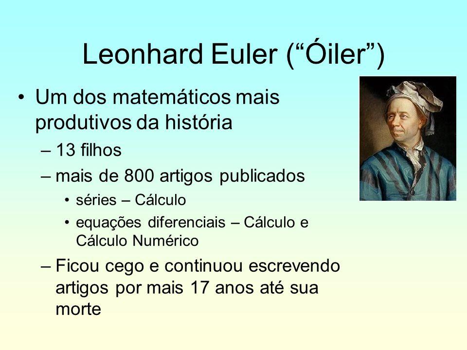 Leonhard Euler ( Óiler )