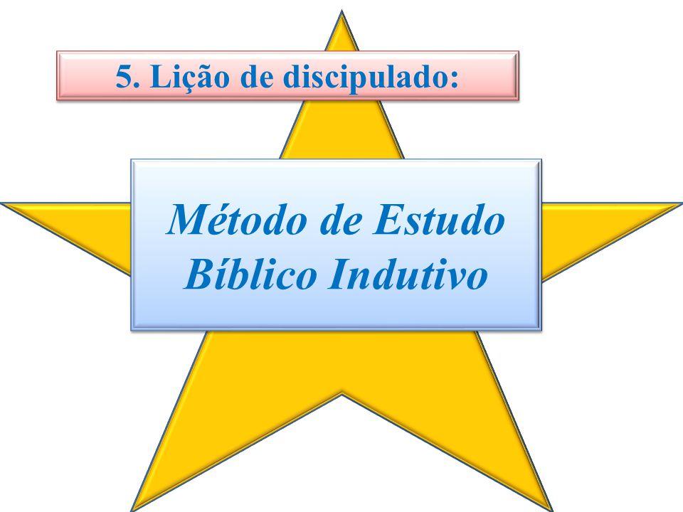 Método de Estudo Bíblico Indutivo