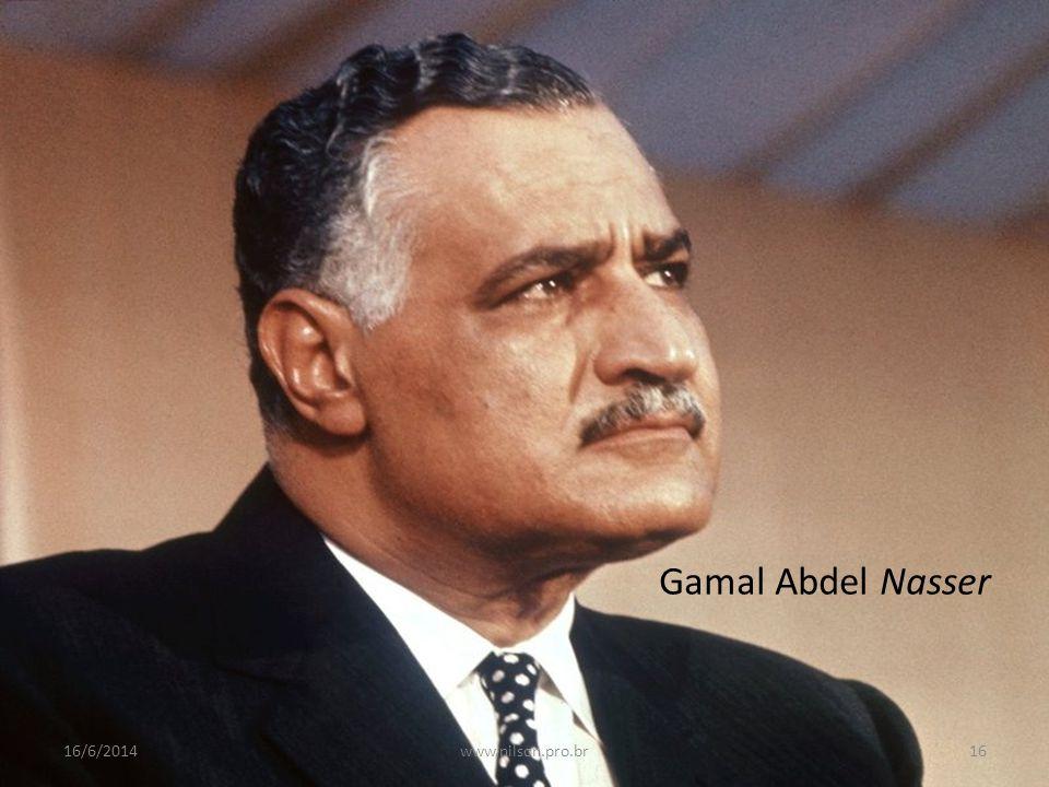 Gamal Abdel Nasser 02/04/2017 www.nilson.pro.br