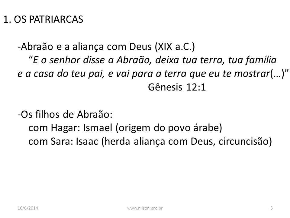 -Abraão e a aliança com Deus (XIX a.C.)