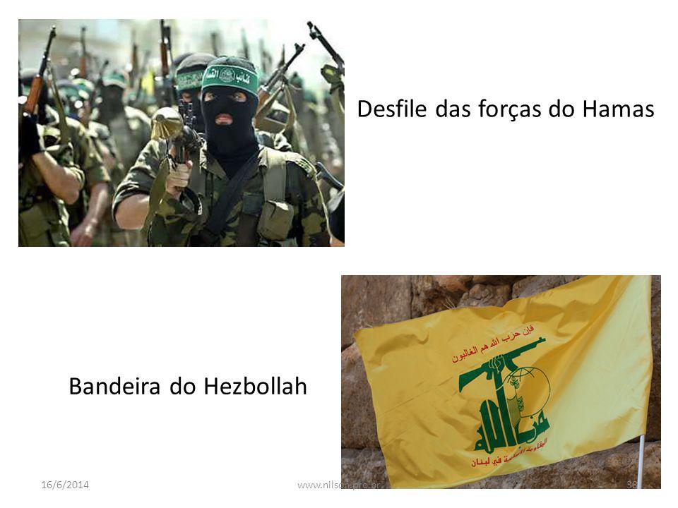Desfile das forças do Hamas