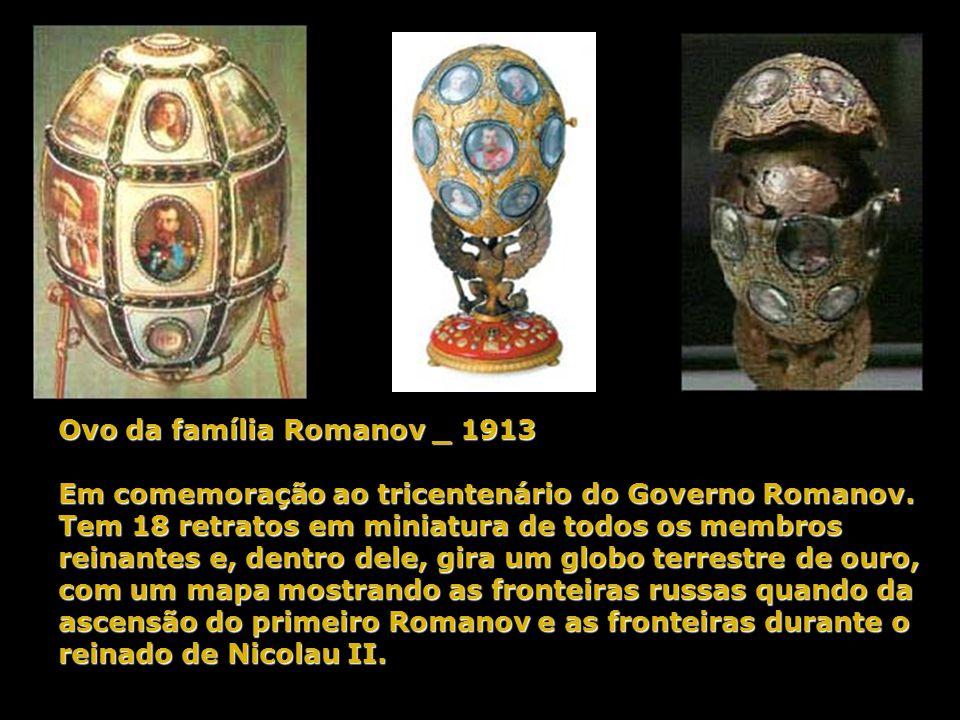 Ovo da família Romanov _ 1913