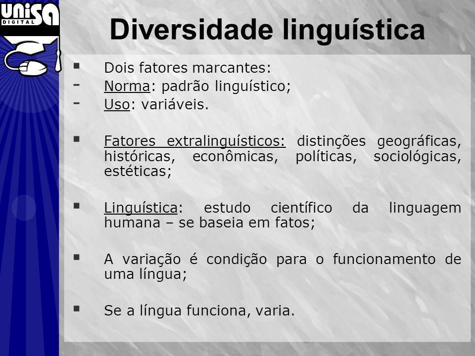 Diversidade linguística