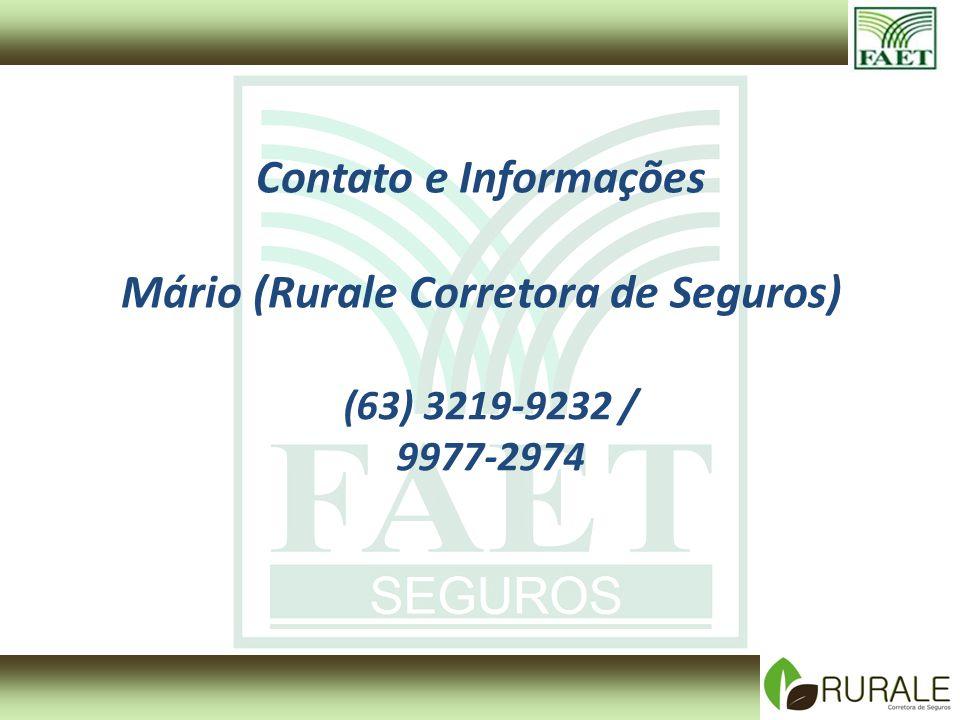 Mário (Rurale Corretora de Seguros)
