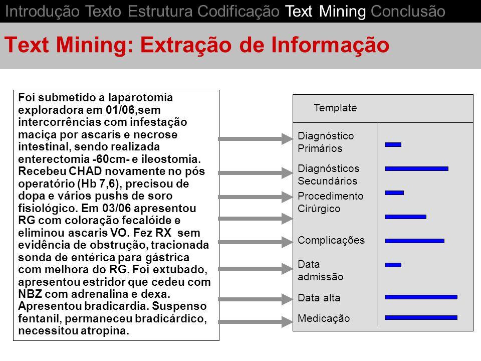 Text Mining: Extração de Informação