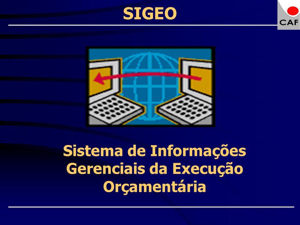 Sistema de Informações Gerenciais da Execução Orçamentária