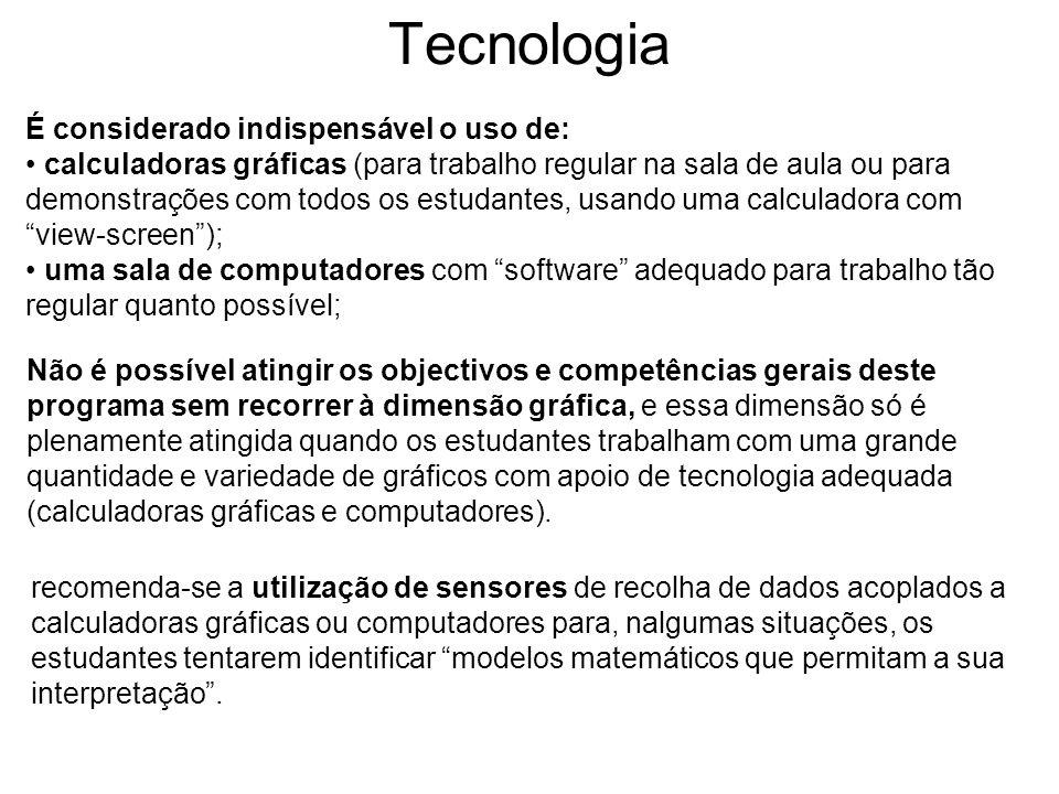 Tecnologia É considerado indispensável o uso de: