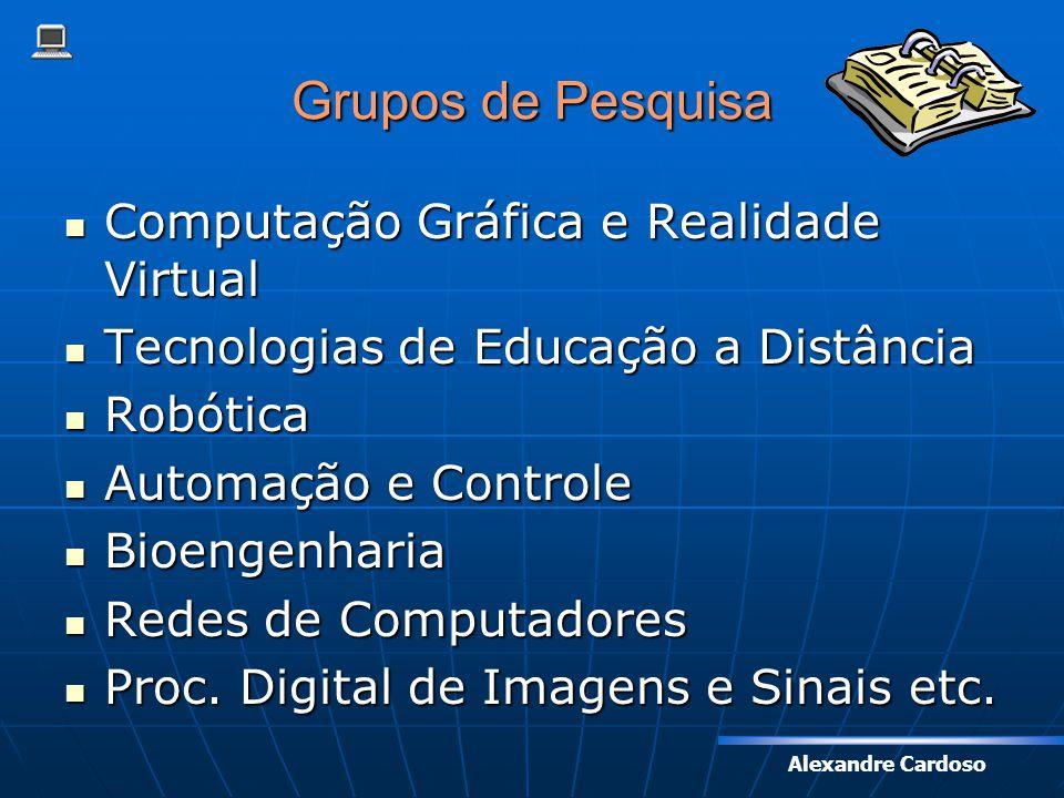 Grupos de Pesquisa Computação Gráfica e Realidade Virtual