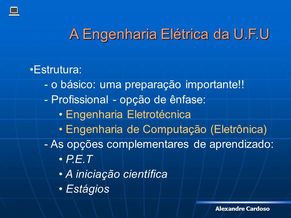 A Engenharia Elétrica da U.F.U