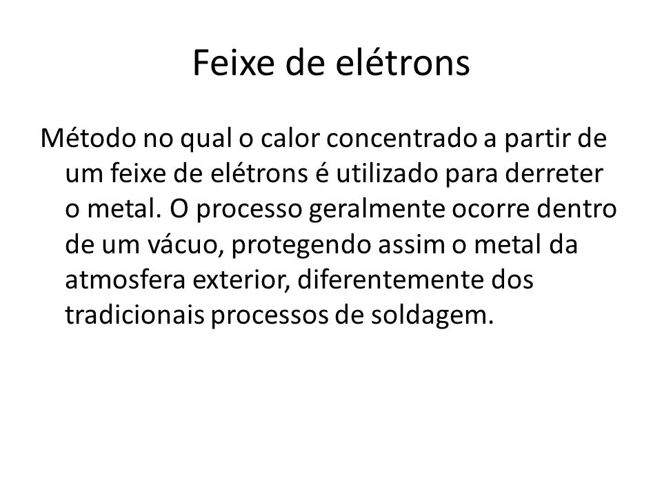 Feixe de elétrons