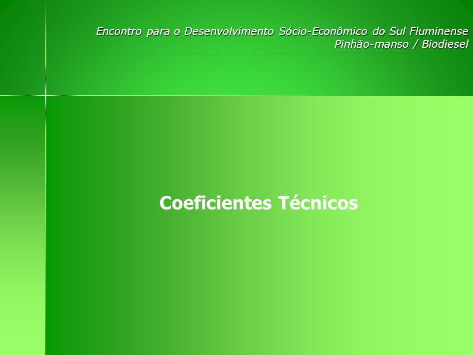 Coeficientes Técnicos