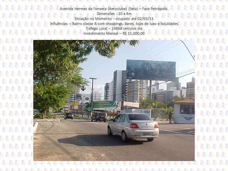 Avenida Hermes da Fonseca (Aeroclube) (Seta) – Face Petrópolis