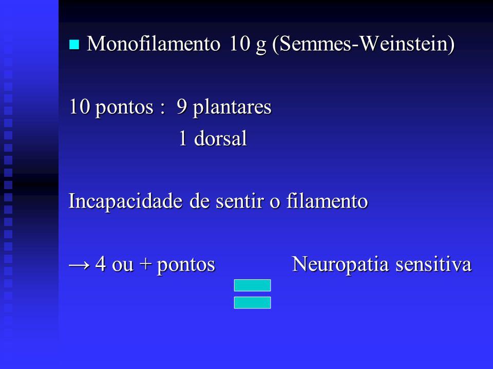 Monofilamento 10 g (Semmes-Weinstein)